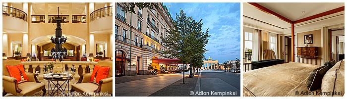 Hotels in Berlin: Hotel Adlon Kempinski